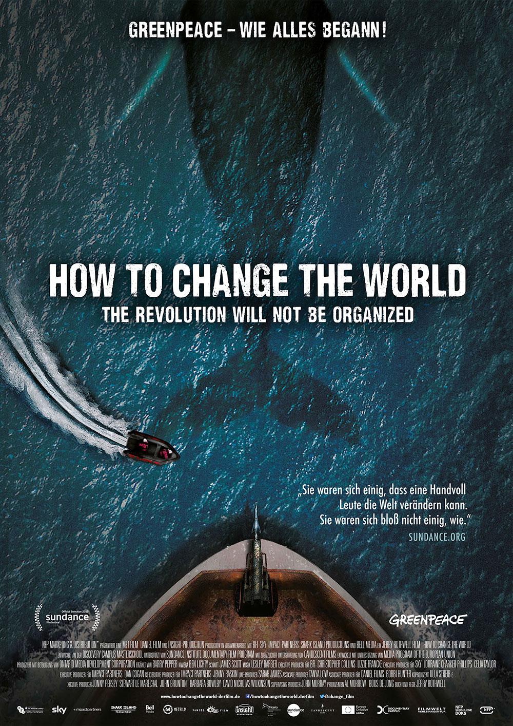 HOW TO CHANGE THE WORLD  – Ein Film über Greenpeace – wie alles begann  – jetzt in der Gemeindebücherei Pöcking