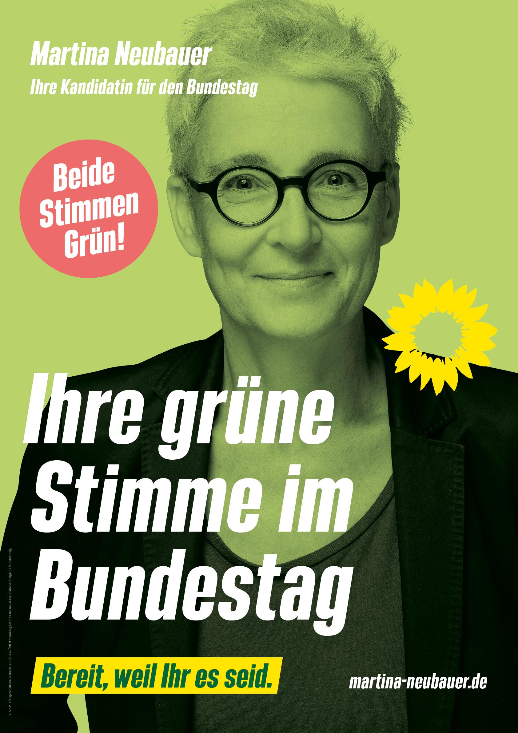 Martina Neubauer – Unsere Kandidatin für den Bundestag